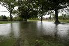 Wet weather in Kuirau Park. Photo/File