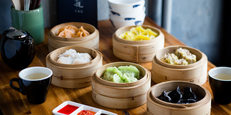 A selection of dumplings on the menu at Tao restaurant in Newmarket. Photo / Babiche Martens