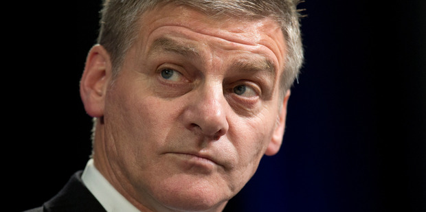 Loading Prime Minister Bill English says everyone has contributed to surpluses by doing more with less. Photo/ Mark Mitchell