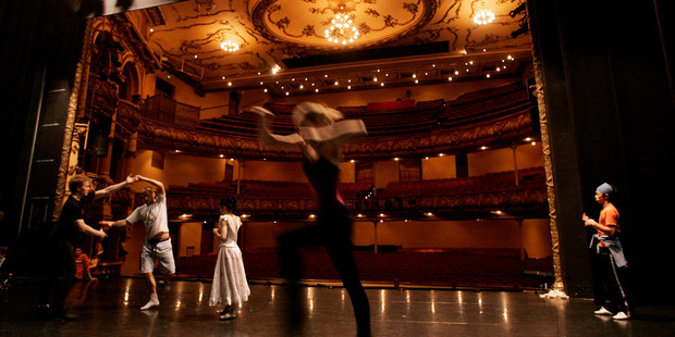 The Royal New Zealand Ballet will hold its performances in the Opera House, but is still looking for a venue for day-to-day business while St James Theatre undergoes earthquake strengthening. Photo / File
