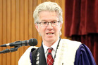 Whanganui Mayor Hamish McDouall will be at Parliament for the third reading of the Te Awa Tupua bill today. PHOTO/ FILE