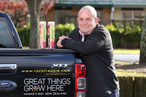 Managing director Phil Alison has sold the Havelock North Fruit Company to new investors and it has been re-named Rockit Global Limited. Photo/file.