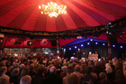 The Pacific Crystal Palace Spiegeltent was the main venue at last year's Harcourts Hawke's Bay Arts Festival, but with more venues added, the cost of running the festival increased.