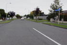 STREET SCENE: The area where a girl was reported to have been assaulted by a stranger while on her way to school in Napier suburb Tamatea on Monday. PHOTO/FILE