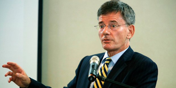 Minister for the BCSB and NZ SIS Chris Finlayson, also known as Francis Lohia. Photo / John Stone