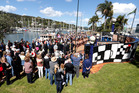 The unveiling at the Whangarei Town Basin of Te Kakano, the Hundertwasser Art Centre.