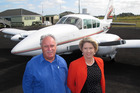 Sunair Aviation owners Dan and Bev Power. Photo / Peter de Graaf