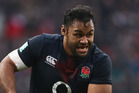 England No8 Vunipola made it clear he wants to knock New Zealand off their perch. Photo / Getty Images
