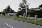 A Tamatea High School student was assaulted on her way to school yesterday morning near the intersection of Lanark Crescent and Glamorgan Avenue in the Napier suburb of Tamatea. Photo/ Paul Taylor.