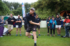 James Kellow throwing far at the Hilux New Zealand Rural Games last weekend. Photo/Neco Wieringa