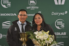 Carlos and Bernice Delos Santos were announced winners of the region's Share Farmer of the Year competition at the Central Plateau Dairy Industry Awards annual awards dinner in Rotorua last night.  Photo/NZDIA