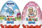 The Kinder Surprise Maxi egg is five times the size of the original egg. Photo / Twitter