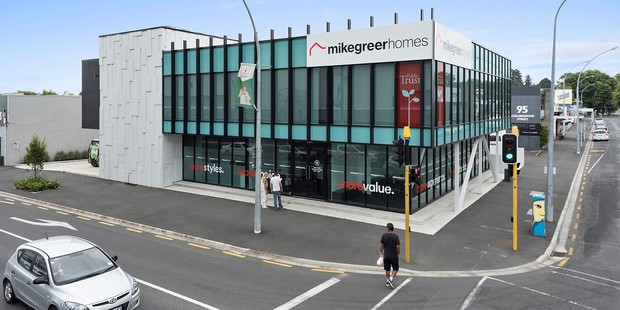 This CBD building at 233 Anglesea St, Hamilton sold at Bayleys' latest Total Property auction for $4.7m. Photo / Supplied