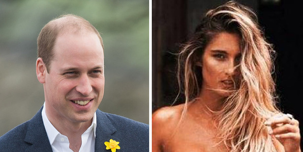 Prince William has found himself embroiled in a media storm after being snapped partying with Australian model Sophie Taylor. Photos / Getty, Facebook
