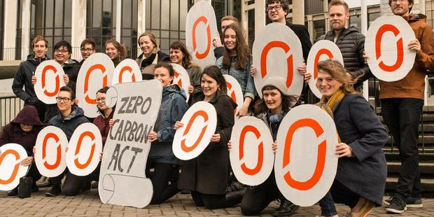 "Generation Zero is a nationwide organisation of young people who have decided that ""we can't afford to wait for politicians to protect our future"". Photo / Supplied"
