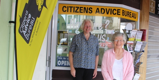 Jane Gilbert and Sheila Masters are two of the volunteers  at the Stratford Branch of the CAB