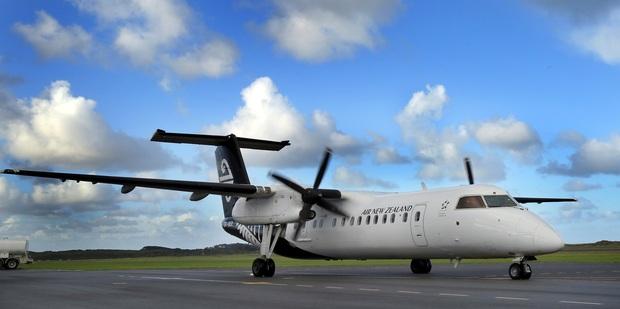 A Bombardier Q300. Photo / NZME.