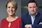 Hilary Barry and Duncan Garner. Photo / Supplied