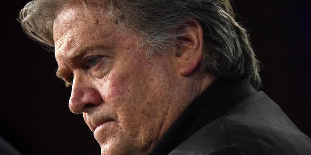 Stephen Bannon. Photo / The Washington Post