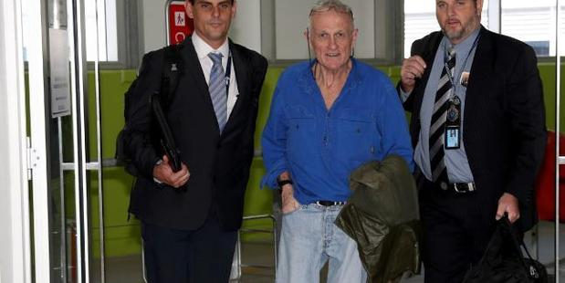 Former playboy and Revelle's wealthiest client, Mark Coulton, 56, is extradited to Cairns on an alleged drug conspiracy last month. Photo / News Corp Australia