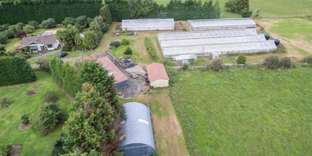 The rural property near Whangarei, on the market for many months.