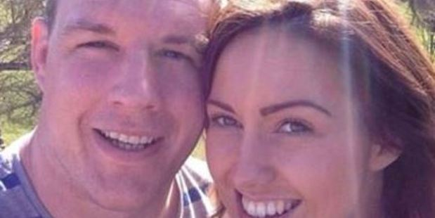 Bronson and Leanne Ross made the post of their engagement public after the wedding. Photo / Supplied