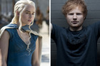 Ed Sheeran is set to appear in Game of Thrones. Photos / Supplied