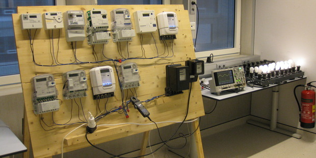Some of the new electronic power meters on the market. Photo / Supplied