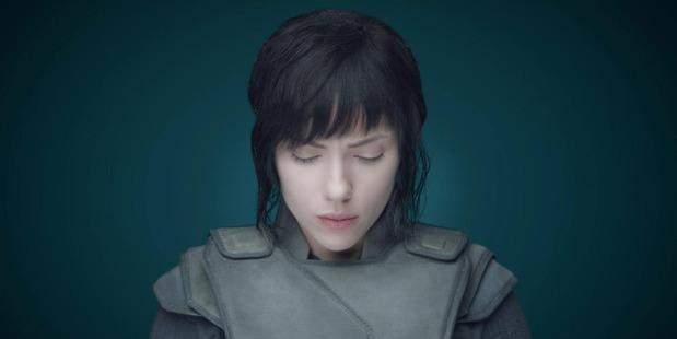 Loading Scarlett Johansson's casting in Ghost in the Shell has been met with controversy. Photo / Paramount Pictures