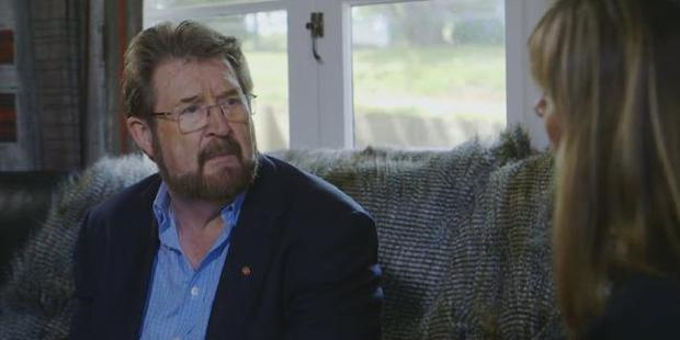 Derryn Hinch opens up on Home Delivery. Photo / ABC