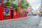 The Temple Bar in Dublin, Ireland. Photo / 123RF