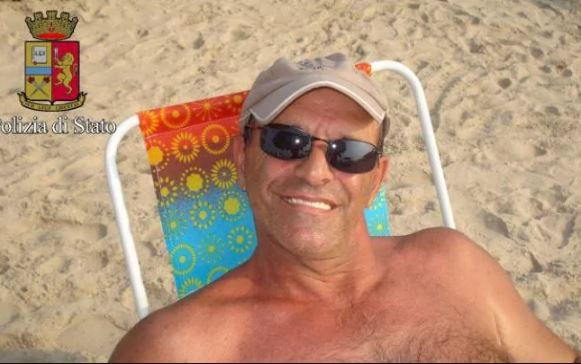 Perrone was enjoying the good life in Mexico before he was tracked down by police. Photo / Italian Police