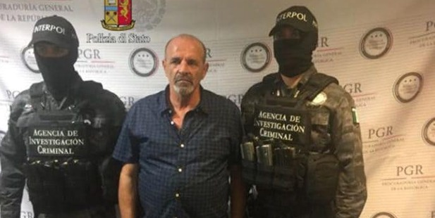 Giulio Perrone, 65, a convicted drug smuggler, was arrested with help from Facebook. Photo / Italian Police