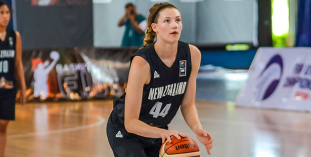 McKenna Dale is getting noticed. Photo / FIBA