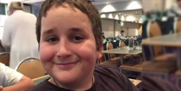 Ryan Teasdale went missing while playing with other neighbourhood children in a flooded park.