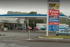 The Mobil service station at Karapiro was ram raided in the early hours of Monday morning. Photo/Google Maps