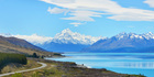 Lake Pukaki and Mt Cook. Photo / 123RF