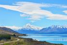 Lake Pukaki and Mt Cook. Photo / 123RF