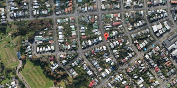 A police spokeswoman said the body was discovered on Murdoch Rd, Grey Lynn. Photo / Google Maps