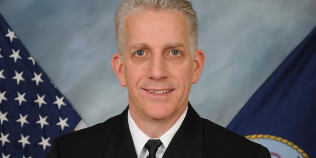 Rear Admiral Bruce Loveless. Photo / US Navy