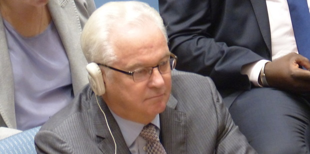Russia's Vitaly Churkin who died last month.