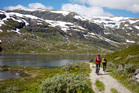 Rallarvegen cycle route, Norway. Photo / Getty Images