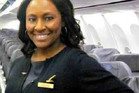 Air stewardess Shelia Fedrick, who spotted a girl who was being sex-trafficked on a plane. Photo / Facebook