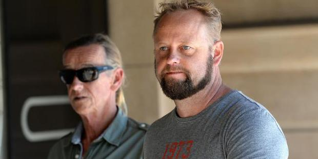 Salt Creek roadhouse owner Adam Stewart gave evidence yesterday. Photo / News Corp
