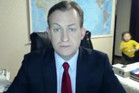 Robert Kelly's BBC Skype interview. Photo / YouTube