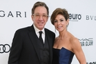 Tim Allen, with  wife Jane, says conservatives are bullied in showbiz. Photo / Getty Images