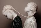 Lara and Mara Bawar. Photo / Vinicius Terranova, Caters News