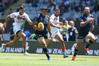 Jason Taumalolo of the Cowboys at the NRL Auckland Nines match. Photo/Photosport