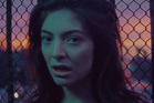 Still from the video for Lorde's comeback single 'Green Light'.