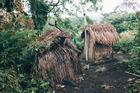 The rebuilt toilets in Vanuatu. Photo / Jo Currie